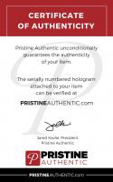 Denny Hamlin Signed Original #11 Daytona International Speedway Seat Back (Fanatics COA & PA COA) at PristineAuction.com