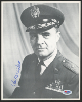 Paul Tibbets Signed WWII 8x10 Photo (PSA COA) at PristineAuction.com