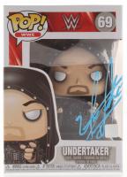 "The Undertaker Signed ""Undertaker"" #69 WWE Funko Pop! Vinyl Figure (JSA COA) at PristineAuction.com"