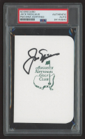 Jack Nicklaus Signed Augusta National Golf Club Scorecard (PSA Encapsulated) at PristineAuction.com