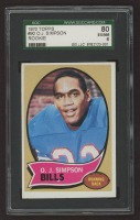 O.J. Simpson 1970 Topps #90 RC (SGC 6) at PristineAuction.com