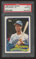 Ken Griffey Jr. 1989 Topps Traded #41T RC (PSA 10) at PristineAuction.com
