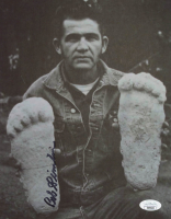 "Bob Gimlin Signed ""Bigfoot"" 8x10 Photo (JSA COA) at PristineAuction.com"