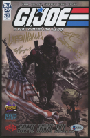 """Ray Park, Larry Hama, & Vo Nguyen Signed 2019 """"G.I. Joe: A Real American Hero"""" Issue #263 IDW Comic Book Inscribed """"Snake Eyes"""" (Beckett LOA) at PristineAuction.com"""