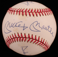 Mickey Mantle, Duke Snider & Willie Mays Signed ONL Baseball (Stallard LOA) at PristineAuction.com