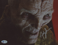 """Andy Serkis Signed """"Star Wars: The Last Jedi"""" 8x10 Photo (Beckett COA) at PristineAuction.com"""