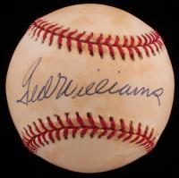 Ted Williams Signed OAL Baseball (Stallard LOA) at PristineAuction.com