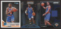 Lot of (3) RJ Barrett Basketball Cards with 2019-20 Panini Prizm Sensational Swatches #3, 2019-20 Panini Prizm Draft Picks #66 & 2019-20 Donruss #203 RR RC at PristineAuction.com