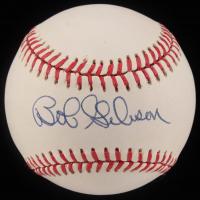 Bob Gibson Signed ONL Baseball (JSA COA) at PristineAuction.com