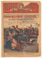 Vintage 1922 Wild West Weekly Magazine at PristineAuction.com