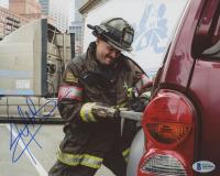 "Joe Minoso Signed ""Chicago Fire"" 8x10 Photo (Beckett COA) at PristineAuction.com"