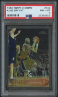 Kobe Bryant 1996-97 Topps Chrome #138 RC (PSA 8) at PristineAuction.com