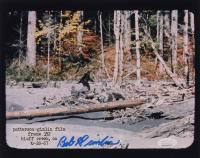"Bob Gimlin Signed ""Bigfoot"" Patterson–Gimlin Film 8x10 Photo (JSA COA) at PristineAuction.com"