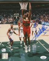 Dikembe Mutombo Signed Hawks 8x10 Photo (JSA COA) at PristineAuction.com