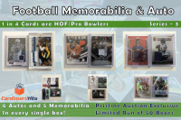 Cardboard Hits Football Memorabilia and Auto Mystery Box (11 Auto or Relic Cards per Box) at PristineAuction.com
