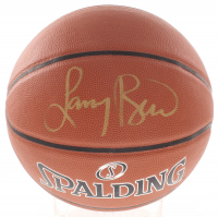 Larry Bird Signed NBA Basketball (PSA COA & Bird Hologram) at PristineAuction.com
