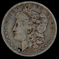 1887-O Morgan Silver Dollar at PristineAuction.com