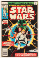 "1977 ""Marvel Comics Group: Star Wars"" Issue #1 Marvel Comic Book at PristineAuction.com"