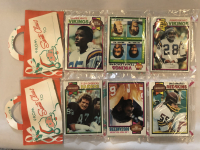 Lot of (2) 1979 Topps Unopened Football Christmas Rack Packs at PristineAuction.com