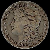 1880-O Morgan Silver Dollar at PristineAuction.com