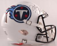 Marcus Mariota Signed Titans Full-Size Authentic On-Field Speed Helmet (Panini Hologram) at PristineAuction.com