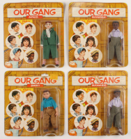 """Lot of (4) 1975 """"Our Gang"""" Figures With Alfalfa, Spanky & (2) Buckwheat at PristineAuction.com"""