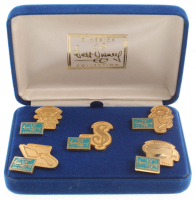 """Walt Disney """"5th Anniversary"""" LE Boxed Pin Set of (5) at PristineAuction.com"""