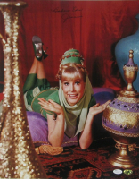 "Barbara Eden Signed ""I Dream of Jeannie"" 16x20 Photo Inscribed ""Jeannie"" (JSA COA & MAB Hologram) at PristineAuction.com"