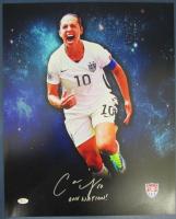 "Carli Lloyd Signed Team USA 16x20 Photo Inscribed ""One Nation!"" (JSA COA) at PristineAuction.com"