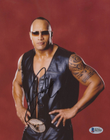 "Dwayne ""The Rock"" Johnson Signed 8x10 Photo (Beckett COA) at PristineAuction.com"