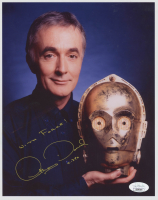 """Anthony Daniels Signed """"Star Wars"""" 8x10 Photo Inscribed """"With Force!"""" & """"C-3PO"""" (JSA COA) at PristineAuction.com"""