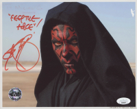 """Ray Park Signed """"Star Wars: The Phantom Menace"""" 8x10 Photo Inscribed """"Feel The Force!"""" (JSA COA) at PristineAuction.com"""