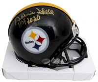 """Donnie Shell Signed Steelers Mini Helmet Inscribed """"HOF 2020"""" (Beckett COA) at PristineAuction.com"""