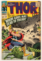 """1966 """"The Mighty Thor"""" Issue #132 Marvel Comic Book at PristineAuction.com"""