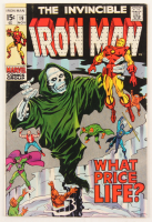 "1969 ""The Invincible Iron Man"" Issue #19 Marvel Comic Book at PristineAuction.com"