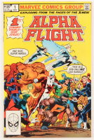 "1983 ""Alpha Flight"" Issue #1 Marvel Comic Book at PristineAuction.com"