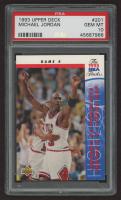Michael Jordan 1993-94 Upper Deck #201 (PSA 10) at PristineAuction.com