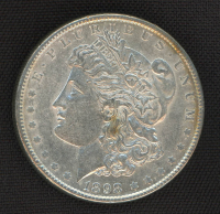 1898 Morgan Silver Dollar at PristineAuction.com