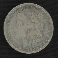 1890-S Morgan Silver Dollar at PristineAuction.com