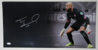 "Tim Howard Signed Team USA 12x24 Photo Inscribed ""USA"" (JSA COA) at PristineAuction.com"