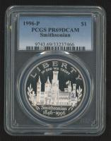 1996-P Smithsonian Commemorative Proof $1 Dollar Coin (PCGS PR69 DCAM) at PristineAuction.com