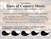 "Always Autographed ""Stars of Country Music"" Pickguard Mystery Box at PristineAuction.com"