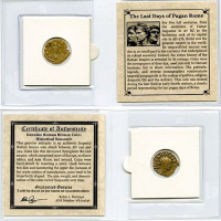 The Last Days of Pagan Rome AD 240-324 - Ancient Bronze Coin at PristineAuction.com