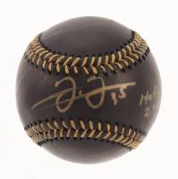 "Frank Thomas Signed OML Black Leather Baseball Inscribed ""HOF 2014"" (JSA COA) at PristineAuction.com"