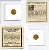 Rome: The First Christian Empire. AD 306-410 - Ancient Bronze Coin at PristineAuction.com