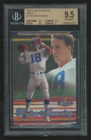 Peyton Manning 1998 Flair Showcase Legacy Collection Masterpieces Row 2 #3 (BGS 9.5) at PristineAuction.com