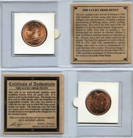 Lucky Irish Penny at PristineAuction.com