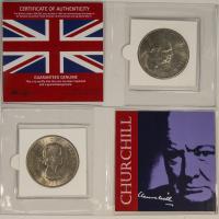 Churchill Coin Album: 1965 British Crown at PristineAuction.com