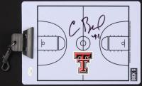 Chris Beard Signed Texas Tech Red Raiders Dry Erase Basketball Clipboard (JSA COA) at PristineAuction.com