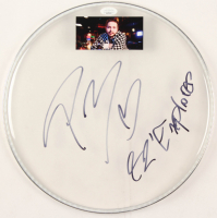 "Post Malone Signed 12.5"" Drumhead Inscribed ""92 Explorer"" With 2x4 Photo (JSA COA) at PristineAuction.com"